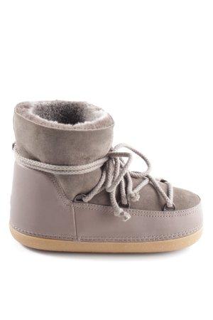 Ikkii Winter Boots brown casual look