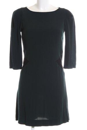 Ikks A-Linien Kleid grün-khaki Business-Look