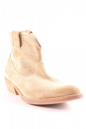 Ikks Booties ocker Biker-Look