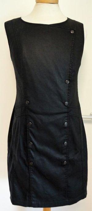 IKKS Chintz Kleid, schwarzblau mit Variokragen