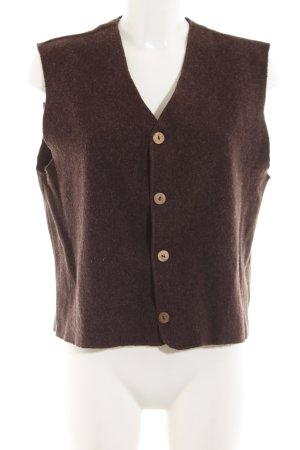 Ikks Fleece Vest brown casual look