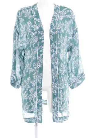 Ikks Kimono-Bluse florales Muster Boho-Look