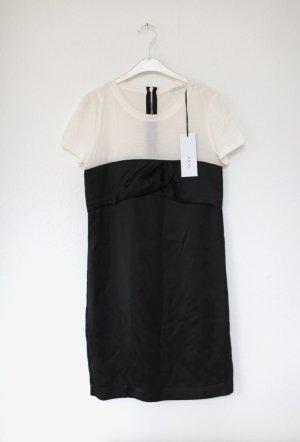 Ikks Kleid 60s Dress Vintage Look schwarz weiß Gr. 38 Neu mit Etikett Minikleid