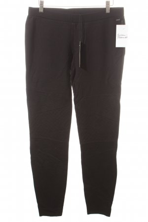 Ikks Leggings schwarz Biker-Look
