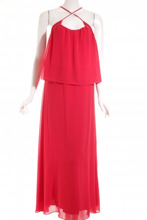 Ikks Maxikleid rot-silberfarben Beach-Look