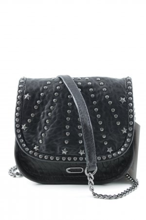 Ikks Borsetta mini nero-argento stile casual