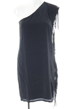 Ikks One Shoulder Dress black elegant