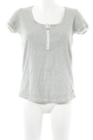 Ikks Maglietta a righe bianco sporco-beige chiaro motivo a righe stile marinaro