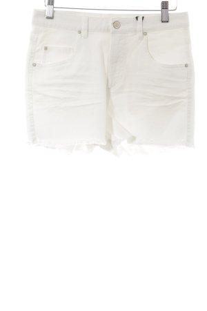 Ikks Shorts bianco sporco stile casual
