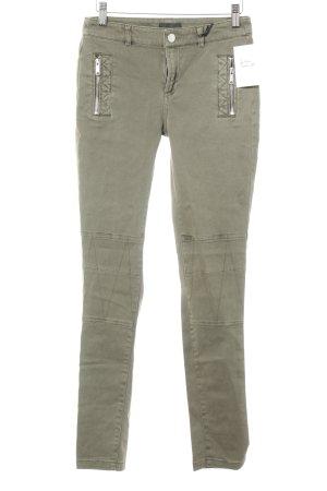 Ikks Skinny Jeans grüngrau Casual-Look