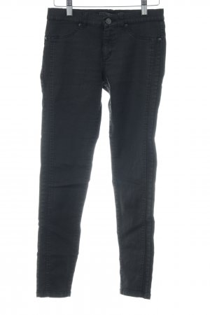 Ikks Skinny Jeans schwarz-silberfarben Casual-Look