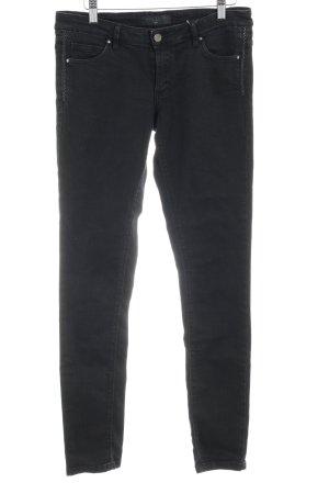 Ikks Slim Jeans schwarz Street-Fashion-Look