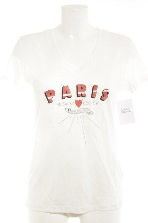 Ikks T-Shirt Schriftzug gedruckt Casual-Look