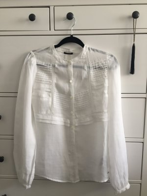 Ikks white shirt with details