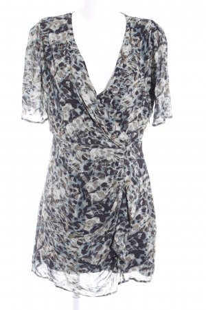 Ikks Wraparound abstract pattern casual look