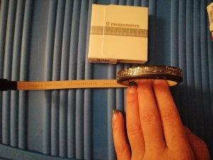 Baccini di Milano Leather Bracelet black-silver-colored leather