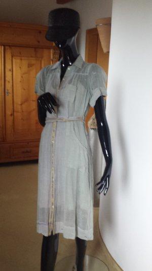 il mundo insolito, sehr leichtes hellgünes Kleid mit passendem Unterkleid Gr. S