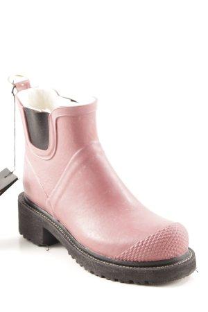 Ilse jacobsen Gummistiefel rosa-schwarz sportlicher Stil
