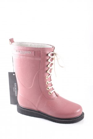 Ilse jacobsen Gummistiefel rosa-wollweiß extravaganter Stil