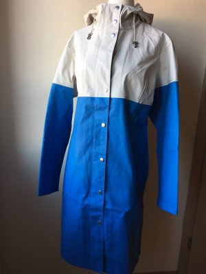 Ilse jacobsen Raincoat neon blue-natural white