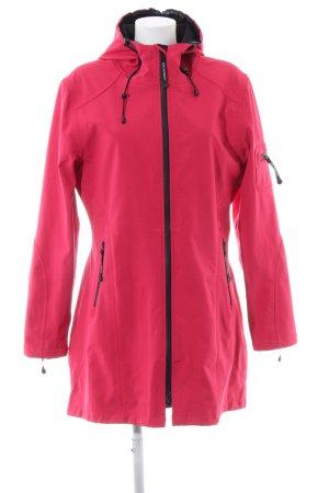 Ilse jacobsen Heavy Raincoat red-black casual look