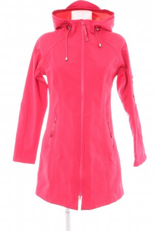 Ilse jacobsen Heavy Raincoat pink casual look