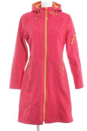 Ilse jacobsen Heavy Raincoat pink-primrose casual look