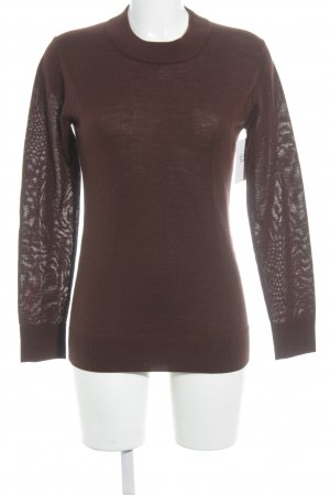 Ilse jacobsen Wollpullover bordeauxrot Casual-Look