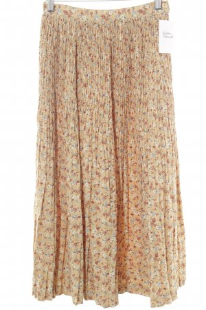 Image Pleated Skirt floral pattern romantic style