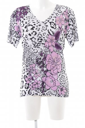 Imagini Camicia maglia motivo floreale stile casual