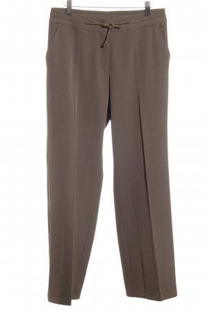 imitz Bundfaltenhose ocker Business-Look