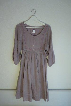 Imitz Kleid S M 38 40 *NEU* lila rosa bestickt süß romantisch hippie indie