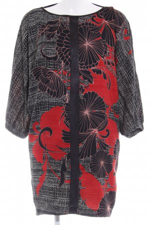 Imperial A-Linien Kleid abstrakter Druck Elegant