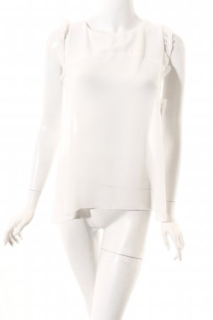 Imperial ärmellose Bluse weiß Elegant