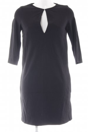 Imperial Cut-Out-Kleid schwarz Casual-Look