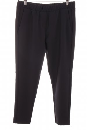 Imperial High-Waist Hose dunkelblau Business-Look