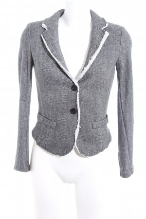 Imperial Jersey Blazer light grey graphic pattern casual look
