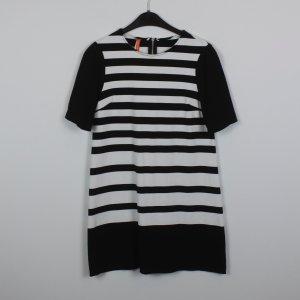 IMPERIAL Kleid Gr. S schwarz weiß gestreift