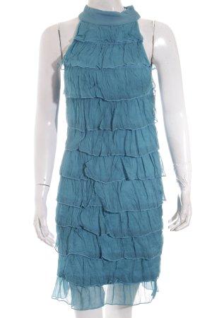 Imperial Kleid petrol Lagen-Look