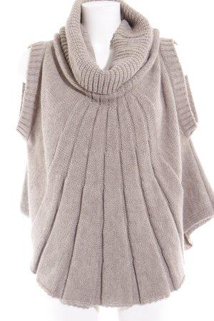 Imperial Sweater met korte mouwen camel casual uitstraling