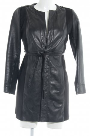 Imperial Leather Coat black casual look