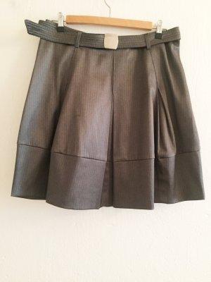 Imperial Jupe ballon gris brun polyester