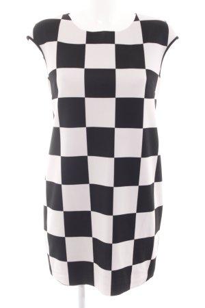 Imperial Minikleid schwarz-wollweiß grafisches Muster Elegant