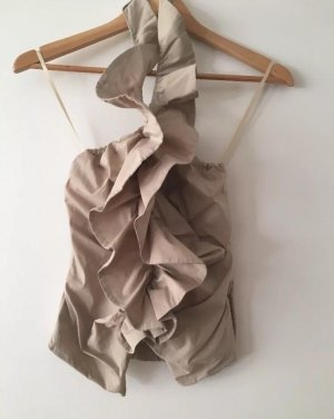 Imperial Halter Top oatmeal