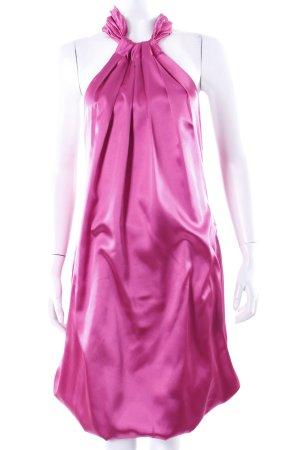 Imperial Neckholderkleid pink