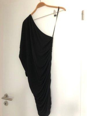 Imperial One Shoulder Dress black