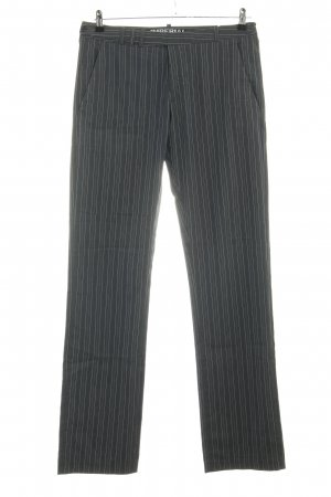 Imperial Stoffhose hellgrau Streifenmuster Business-Look