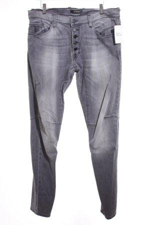 Imperial Stretch Jeans grau Street-Fashion-Look