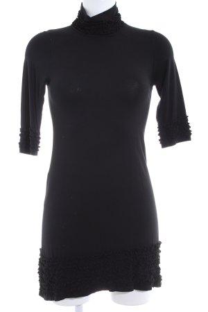Imperial Stretchkleid schwarz Casual-Look