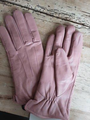 Imperial Gants en cuir vieux rose